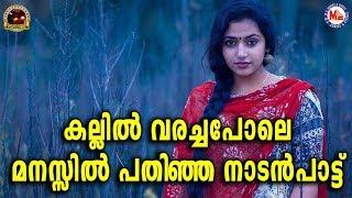 കല്ലിൽവരച്ചുവച്ചപോലെ മനസ്സിൽപതിഞ്ഞ നാടൻപാട്ട് |Nadanpaattu Malayalam|Folk Song In Malayalam