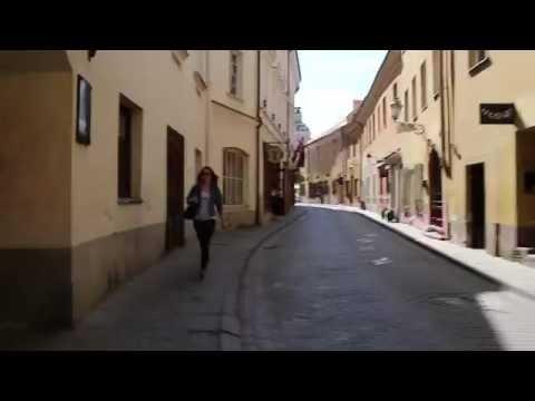 ヴィリニュス旧市街の街歩き