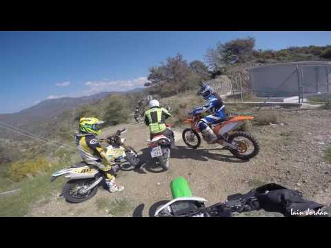 Cyprus Motorcycle Trail Riding Argaka Forest Paphos