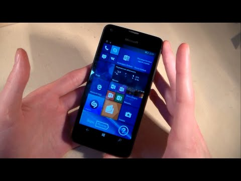 Обзор Microsoft Lumia 550 (Windows 10 Mobile)