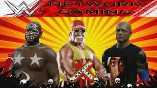 Racist Hulk Hogan vs New Jack vs Kamala I WWE 2K15 Create a Superstar CAW