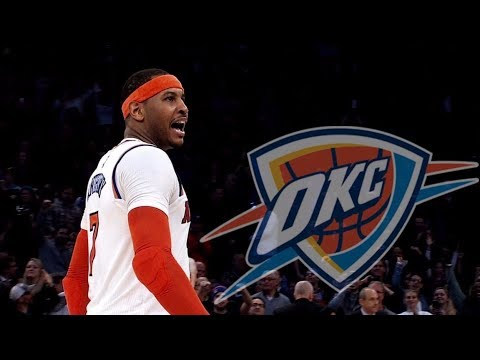Carmelo Anthony leaves Knicks to join Russell Westbrook, Paul George on Thunder | ESPN