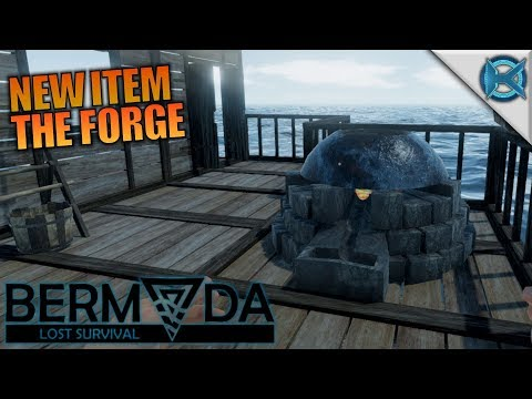 NEW ITEM THE FORGE | Bermuda - Lost Survival | Let's Play Gameplay | S01E05