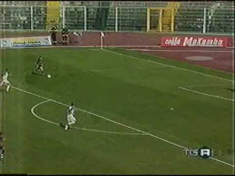 Pescara 1-0 Paternò   Serie C1 2002 03 gol di Calaiò