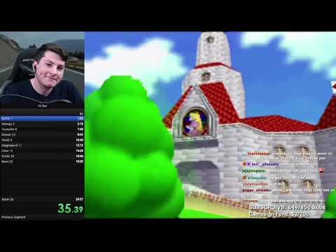 Jawsh Loses His Marbles Playing Mario
