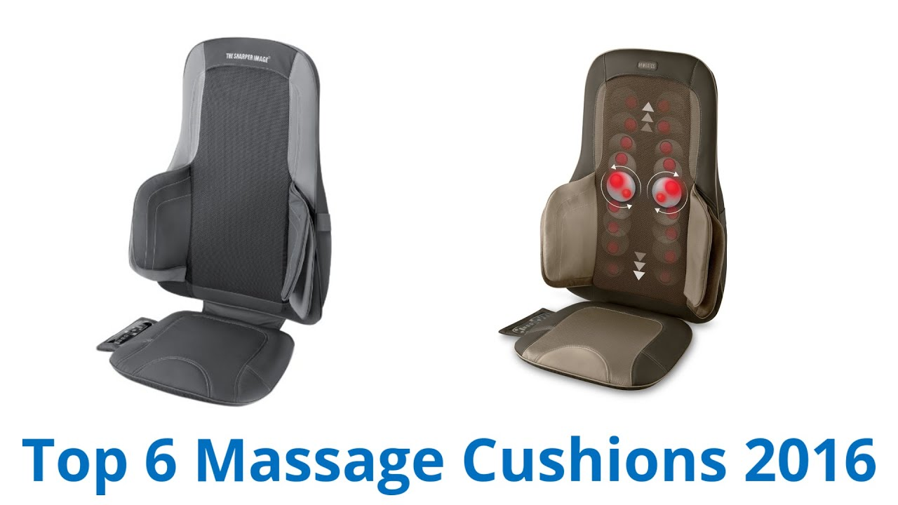 6 Best Massage Cushions 2016