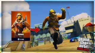 AVOIR LA TENUE DE RAPACE DE FORTNITE ! / GTA 5 ONLINE 1.43 (by wiwil- YT)