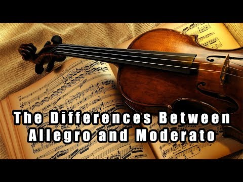 The Differences Between Allegro and Moderato