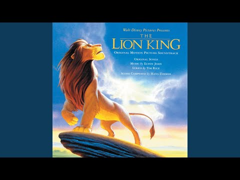 """Can You Feel the Love Tonight (End Title/ From """"The Lion King""""/Soundtrack Version)"""