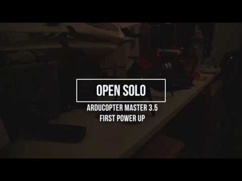 Open Solo First Power On