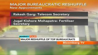 Market Pulse: Major Bureaucratic Reshuffle
