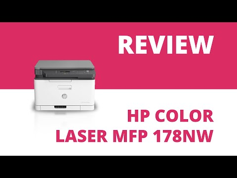 HP Color Laser MFP 178nw A4 Colour Multifunction Laser Printer