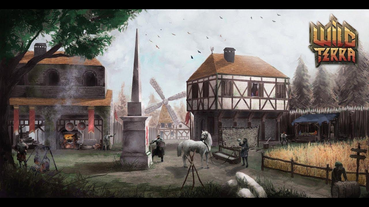Халява: в Steam можно бесплатно играть в Wild Terra Online — MMORPG про средневековую жизнь