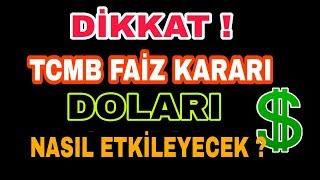 Merkez Bankası'nın faiz kararı  doları uçuracak !