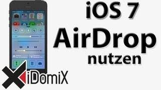 iOS 7 AirDrop nutzen [ German/Deutsch ]