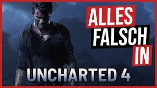 Alles falsch in Uncharted 4 (ReUpload) 🛎️ GameSünden [SATIRE]