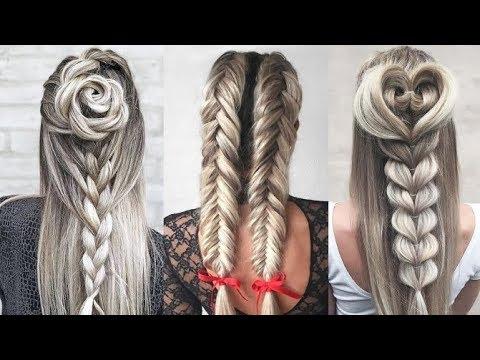 Peinados Con Trenzas Fáciles Y Rápidos Paso A Paso 2019 Cute Hairstyles