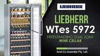 Liebherr WTes 5972 Freestanding Dual Zone Wine Cellar