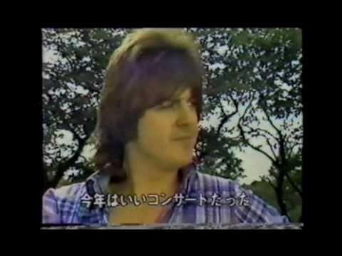 Eric Faulkner, Alan and Derek Longmuir (Bay City Rollers) - Japan Interview