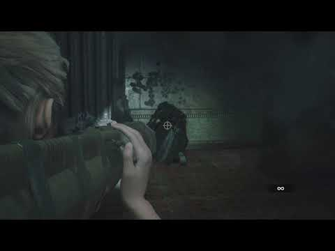 Resident Evil 2 Remake infinite ammo minigun and AT4