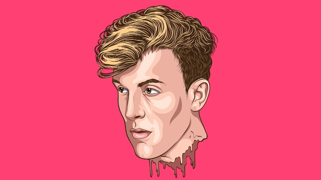 JAKE PAUL - Cartoon Step By Step /Tutorial ( ADOBE ILLUSTRATOR )