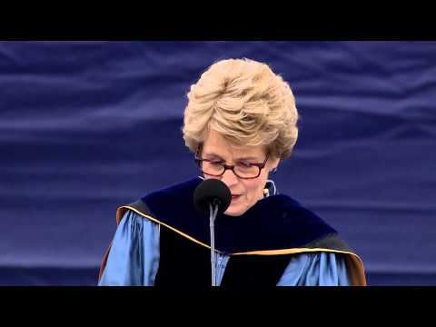 Mary Sue Coleman at 2014 spring commencement