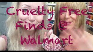 Cruelty Free Cosmetic Shopping -  Walmart Vlog!