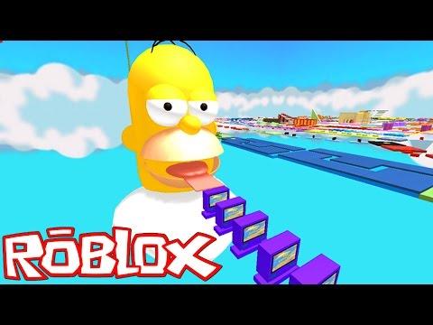 Roblox: ESCAPE DO HOMER SIMPSON !! - (Escape Homer Simpson Obby)