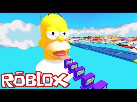 Roblox: ESCAPE DO HOMER SIMPSON !! – (Escape Homer Simpson Obby)