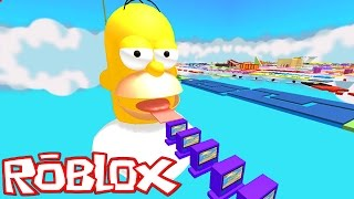 Roblox: ESCAPE DO HOMER SIMPSON !! - (Escape Homer Simpson Obby)