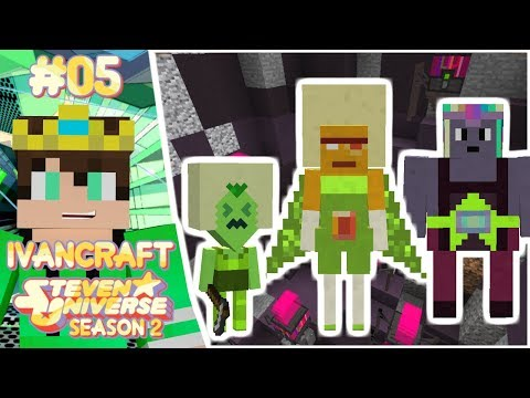 FINALLY WE GET SOME NEW GEMS!!!! | Steven Universe KAGIC Minecraft Let's Play | IVANCRAFT [5]