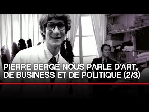 [INEDIT] Pierre Bergé nous parle d'art, de business et de politique (partie 2)