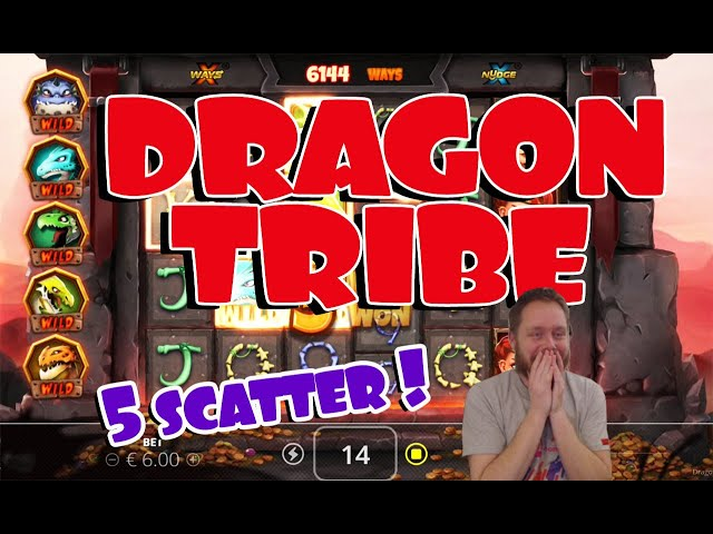 Dragon Tribe 5 Scatter!