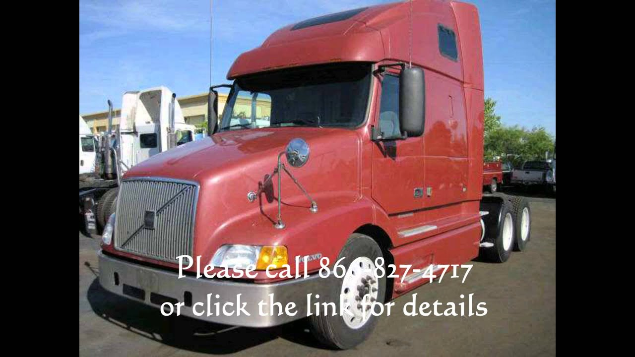 2003 Volvo 660 commercial truck for sale - YouTube