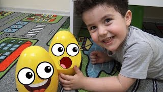 Yusuf Saklı Sürpriz Yumurtalar Peşinde! | Kids Pretend Play with Giant Surprise Eggs