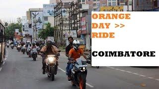 ktm orange day coimbatore 2016 - Thirumoorthy dam