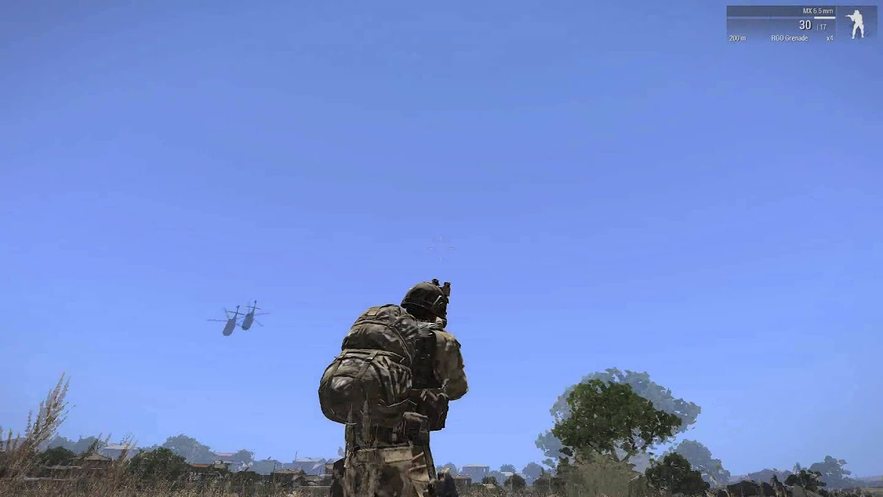 Arma 3 helicopter tutorial
