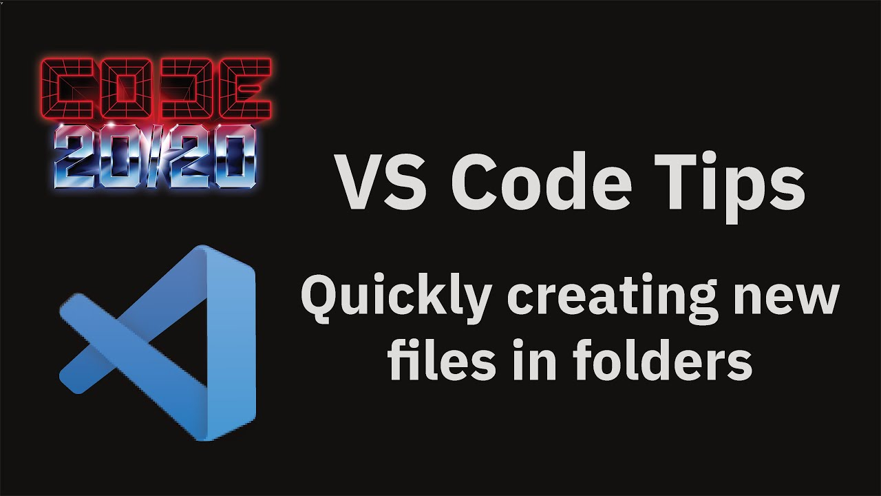 Quickly creating new files in folders