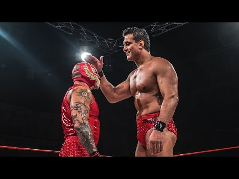 Rey Mysterio vs Alberto El Patron Pro Wrestling World Cup Mexico Part 5