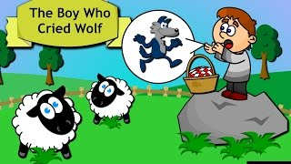 The Boy Who Cried Wolf: Story Time for Children
