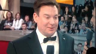 Mike Myers red carpet interview Oscars 2019