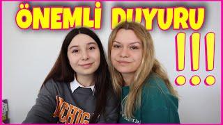 ÖNEMLİ BİR DUYURUMUZ VAR !!