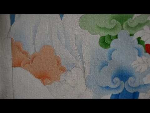 How To Paint Clouds In Thanka Style