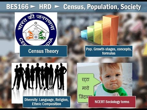 BES166/P1: Census theory, Population growth stages, Formula, diversity, personal laws