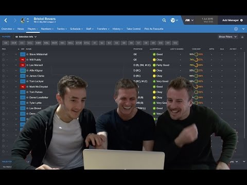 FOOTBALL MANAGER 2016: Bristol Rovers players react to their ratings