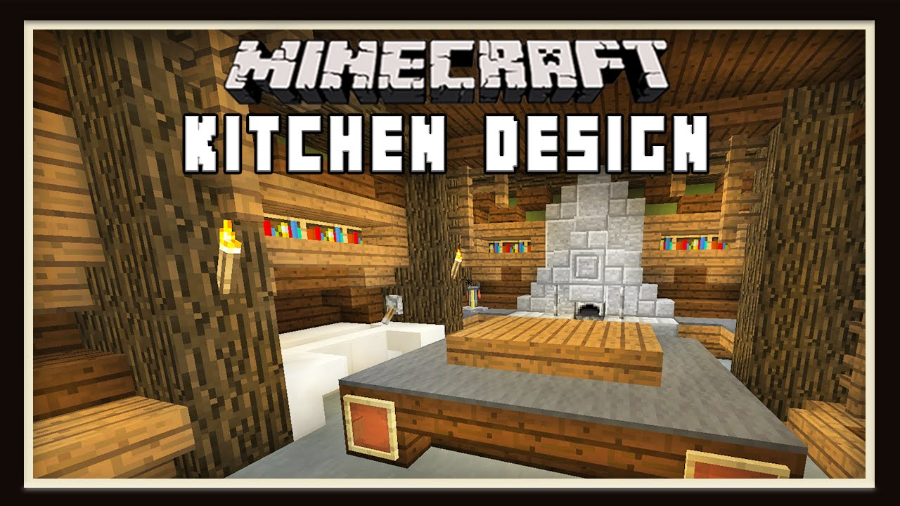 Minecraft kitchen design ideas how to build a house for Kitchen ideas minecraft