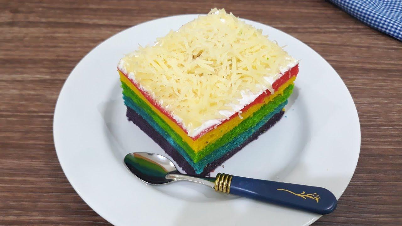 Resep Roll Cake Kukus Ekonomis: Black Forest Roll Cake 6 Telur V Resep Di 2018 Roll Cake