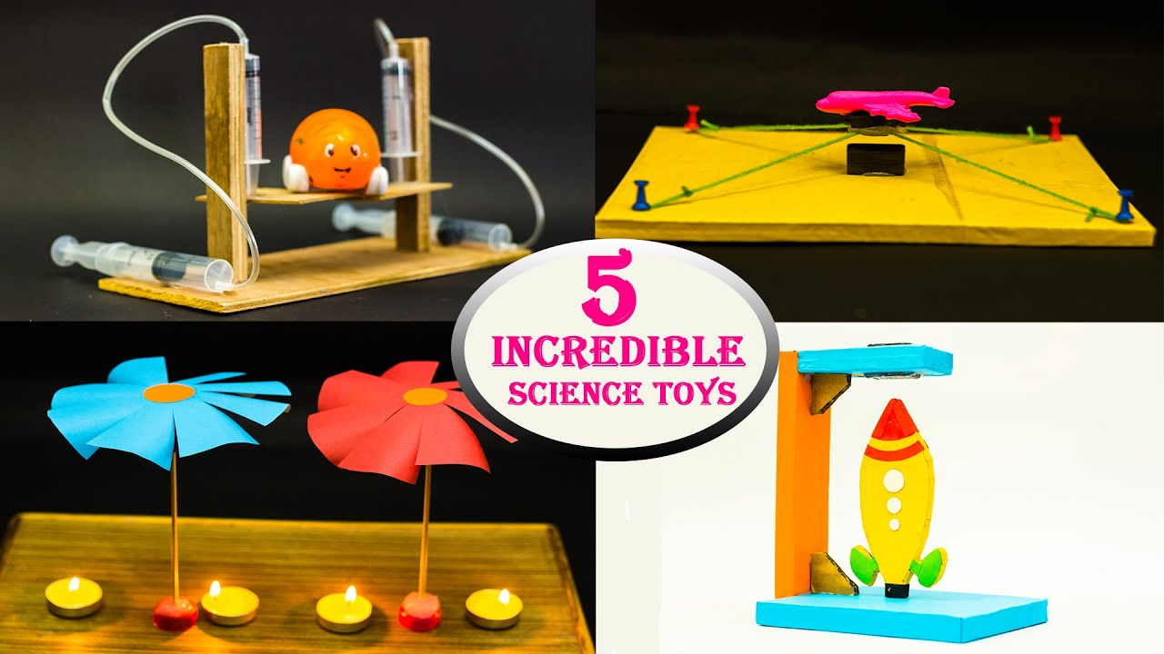 5 Incredible Science Toys