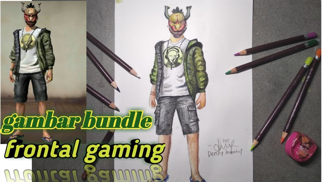 Skill Dewa Menggambar Set Bundle Frontal Gaming Game Free Fire Youtube