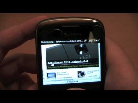 BlackBerry Curve 3G 9300 hands-on